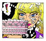 Kimberly With Cake